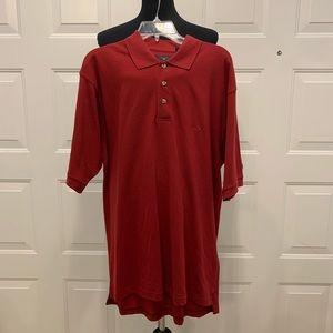 Dockers Short Sleeve Polo Shirt Size Large